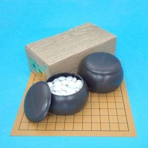 囲碁セット 塩ビの9・13路碁盤とプラスチック椿セット(特価)|igolabo