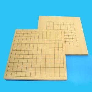 碁盤 新桂9・13路碁盤 (裏面13路) 両用盤|igolabo