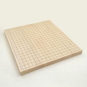 碁盤 ヒバ10号卓上接合碁盤 竹 igolabo