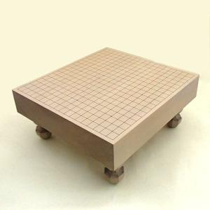 碁盤 桂3寸足付碁盤 松の商品画像