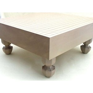 碁盤 桂3寸足付碁盤 松の詳細画像1