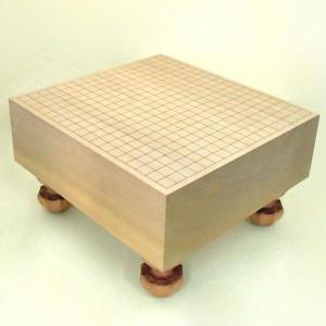 碁盤 本桂5寸足付碁盤 竹|igolabo