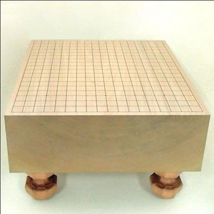 碁盤 本桂5寸足付碁盤 松|igolabo