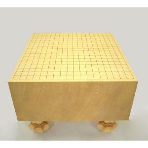 碁盤 新榧(かや)6寸足付碁盤 竹|igolabo