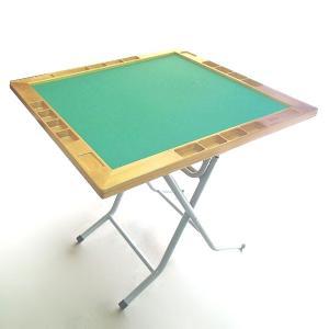 立卓折りたたみ式天面枠木製仕上麻雀卓 平成デラックス|igolabo