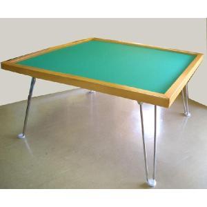 軽便な麻雀卓で引出しはありません。 総重量は約7kgあり、なかなかしっかりしています。 脚は折りたた...