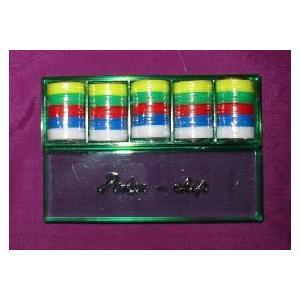 ポーカーチップ P−20 (32mmX100枚 5色)