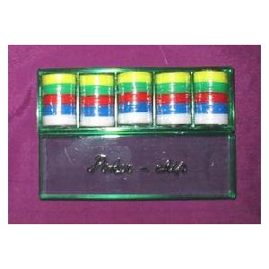ポーカーチップ P−22 (20mmX100枚 5色)