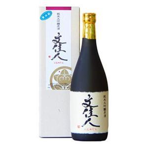 日本酒 高知 文佳人 純米大吟醸原酒 (無濾過生貯蔵) 720ml|igossou-sakaya