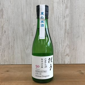 日本酒 高知 桂月 CEL24 純米大吟醸 50 夏の生酒 300ml(summer)|igossou-sakaya