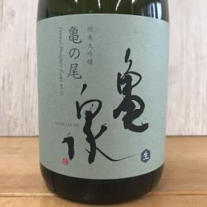 日本酒 高知 亀泉 純米大吟醸 亀の尾 生酒 720ml(新特)|igossou-sakaya