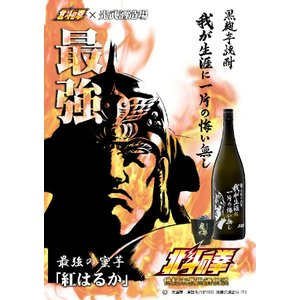 芋焼酎 光武酒造  北斗の拳 我が生涯に一片の悔い無し ラオウ 900ml|igossou-sakaya