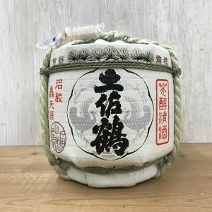 日本酒 高知 土佐鶴 菰樽 (こもだる)1800ml(角・菰・特大) お中元 夏ギフト|igossou-sakaya