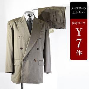 セール対象 スーツ メンズ Y7体 ダブルスーツ メンズスーツ 男性用/中古/訳あり/SAQY05|igsuit