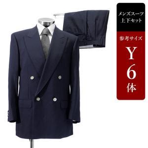 セール対象 CHARLES JOURDAN スーツ メンズ Y6体 ダブルスーツ メンズスーツ 男性用/中古/訳あり/SBCY14 igsuit
