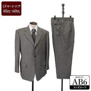 スーツ メンズ AB6体 シングルスーツ メンズスーツ 男性用/40代/50代/60代/ファッション/中古/ビジネススーツ/081/SBFH01|igsuit