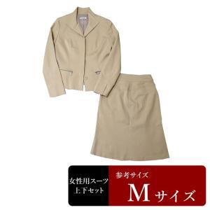 ワールド製 スーツ レディース 9号程度/Mサイズ程度 スカートスーツ レディーススーツ 女性用/中古/訳あり/WCCH02|igsuit
