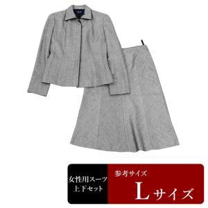 ASCOT TOKYO STYLE スーツ レディース 11号/Lサイズ程度 スカートスーツ レディーススーツ 女性用/中古/訳あり/064/WCCW11|igsuit
