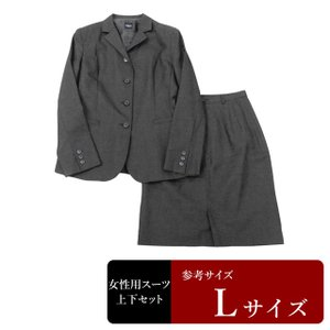 POU DOU DOU スーツ レディース 13号程度/Lサイズ スカートスーツ レディーススーツ 女性用/中古/訳あり/064/WCCX02|igsuit
