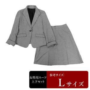 MALE&CO スーツ レディース 11号程度/Lサイズ スカートスーツ レディーススーツ 女性用/中古/訳あり/064/WCCX06|igsuit