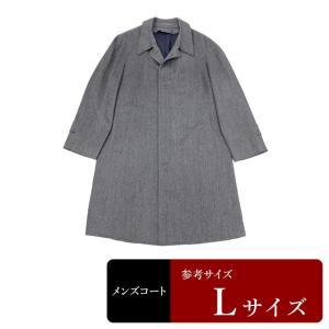 衣替え応援セール コート メンズ Lサイズ ステンカラーコート メンズコート 男性用/中古/訳あり/春秋コート/XEFB10|igsuit