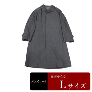 衣替え応援セール コート メンズ Lサイズ ステンカラーコート メンズコート 男性用/中古/訳あり/春秋コート/XEFC07|igsuit