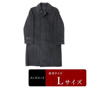 衣替え応援セール コート メンズ Lサイズ ステンカラーコート メンズコート 男性用/中古/訳あり/秋冬コート/ZPXF14|igsuit