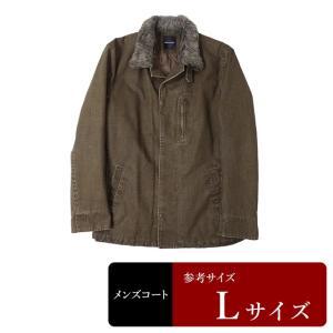 セール対象 BOYCOTT コート メンズ Lサイズ ハーフコート メンズコート 男性用/中古/訳あり/秋冬コート/ZPXP10|igsuit