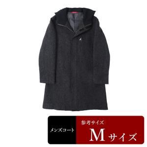 BOYCOTT コート メンズ Mサイズ ロングコート メンズコート 男性用/中古/訳あり/秋冬コート/ZPXY15 igsuit