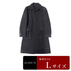 衣替え応援セール COMME CA DU MODE コート メンズ Lサイズ ロングコート メンズコート 男性用/中古/訳あり/秋冬コート/ZPYT07|igsuit