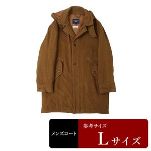 MITSUMINE コート メンズ Lサイズ ロングコート メンズコート 男性用/中古/訳あり/秋冬コート/ZPYX04|igsuit