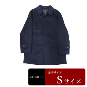 SANYO製 コート メンズ Sサイズ ステンカラーコート メンズコート 男性用/中古/訳あり/082/秋冬コート/ZPZC08|igsuit