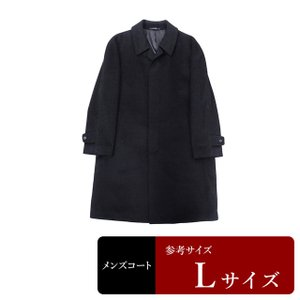 BALESTRINO コート メンズ Lサイズ ステンカラーコート メンズコート 男性用/中古/訳あり/082/秋冬コート/ZPZC10|igsuit