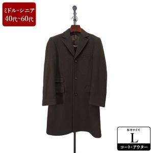MODA RITORNO コート メンズ Lサイズ チェスターコート メンズコート 男性用/40代/50代/60代/ファッション/中古/秋冬コート/093/ZPZR04|igsuit