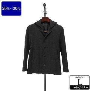 P.S.FA コート メンズ Lサイズ ハーフコート メンズコート 男性用/20代/30代/ファッション/中古/秋冬コート/093/ZPZR05|igsuit