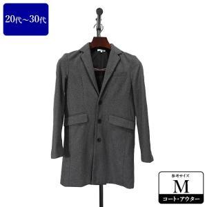 コート メンズ Mサイズ チェスターコート メンズコート 男性用/20代/30代/ファッション/中古/秋冬コート/093/ZPZR10|igsuit