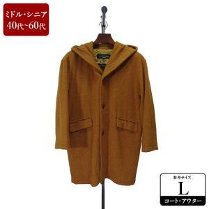 TAKA Q コート メンズ Lサイズ ロングコート メンズコート 男性用/40代/50代/60代/ファッション/中古/101/ZPZW05|igsuit