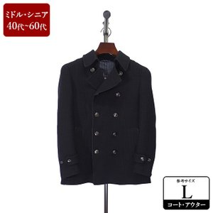 m.f editorial コート メンズ Lサイズ ハーフコート メンズコート 男性用/40代/5...