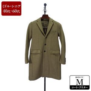 GLOBAL WORK コート メンズ Mサイズ チェスターコート メンズコート 男性用/40代/50代/60代/ファッション/中古/102/ZQAB09|igsuit