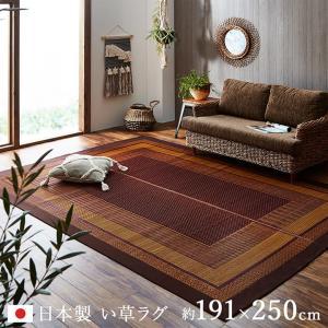 い草ラグカーペット ランクス(総色) 191×250cm 純国産 日本製 い草ラグ い草カーペット イケヒコ|igusakotatu