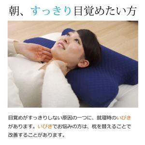 いびき解消枕 機能性 いびき防止枕 快眠 まくら 仰向け寝 横向き寝 うつぶせ寝 腰当 肩こり 低反発 (tm)|igusakotatu|02