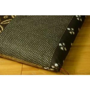 ふんわり小座布団 モダン 約40×40cm 和風 綿100% 国産 和柄 おしゃれ 椅子用 (ib)|igusakotatu|06
