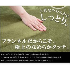 ラグカーペット「フラン」 92×185cm(約1畳) ホットカーペットカバー シンプル フランネル ラグ カーペット 長方形 床暖房 電気カーペット(tm)|igusakotatu|02
