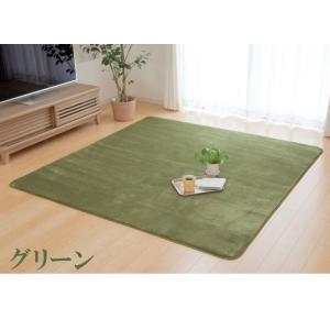 ラグカーペット「フラン」(tm) 130×185cm(約1.5畳) ホットカーペットカバー 1.5畳 シンプル フランネル ラグ カーペット 長方形 床暖房 電気カーペット|igusakotatu|06