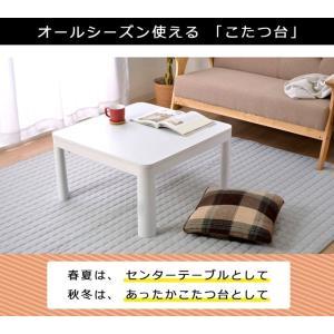こたつ 正方形 こたつ台 こたつテーブル コンパクト カジュアルこたつ台 GL 60×60cm(高さ38.5cm) 一人用 本体 新生活 家電 igusakotatu 03