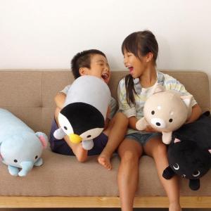 抱きまくら 動物クッション ふわもちアニマル抱き枕L 約20×80cm ふわふわ もちもち アニマルクッション かわいい プレゼント|igusakotatu