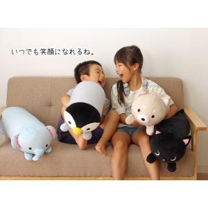 抱きまくら 動物クッション ふわもちアニマル抱き枕L 約20×80cm ふわふわ もちもち アニマルクッション かわいい プレゼント|igusakotatu|05