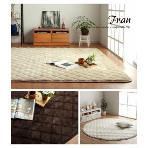 キルトラグ 正方形 「フラン」 190×190cm こたつ敷き布団 正方形 ラグ シンプル キルト カーペット フランネル 暖かい 床暖房対応 ラグ|igusakotatu|13