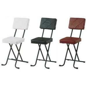 フォールディングチェアー キルト-KIRTO- イス 椅子 折りたたみパイプ椅子 簡易イス|igusakotatu
