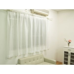 レースカーテン 「シーマ」 100cm幅×3サイズ(133/176/198cm丈) 2枚組 激安 ミラー|igusakotatu